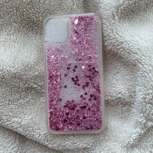 Iphone 11 Sparkly Case